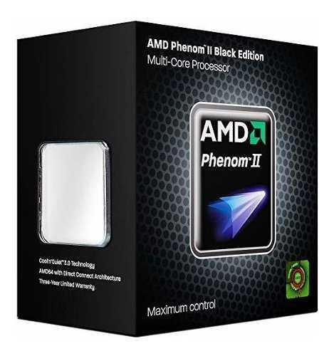 Procesador Amd Phenom Ii X4 960t Black Edition 3.0 Y Turbo/3