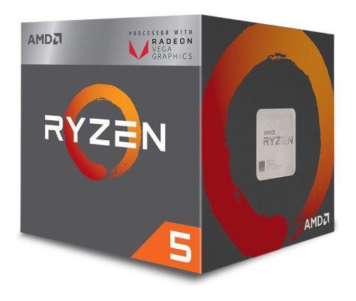 Procesador Amd Ryzen 5 2400g 3.9 Ghz Radeon Vega 11