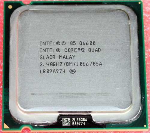 Procesador Intel Core 2 Quad Q6600 Lga 775 * Envio Gratis