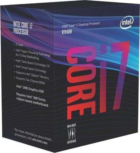 Procesador Intel Core I7 8700 3,2 A 4,6 Ghz
