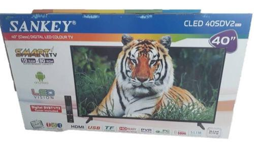 Televisor Led Sankey 40 Full Hd Smart Tv Tdt Incorporado Hd