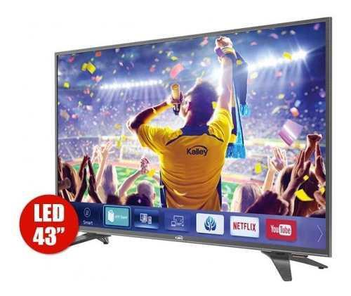 Televisor Smart Tv 43 Pulgadas Kalley Led Hdmi Usb Hogar Ak