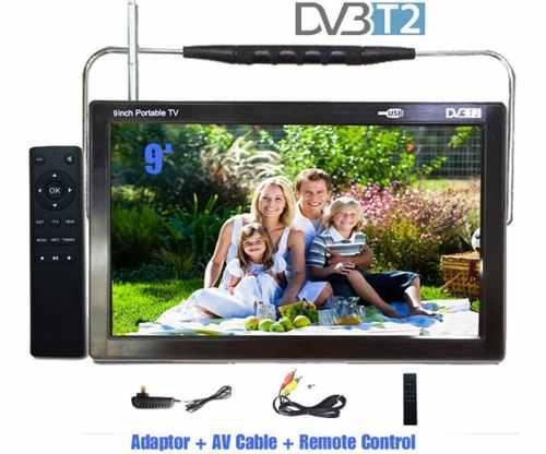Tv Led 9 Con Tdt Dv3 T2.