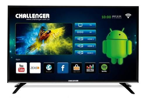 Tv Led Challenger 32 Smart Tv Hd Usb Hdmi Wifi Tdt Bluetooth