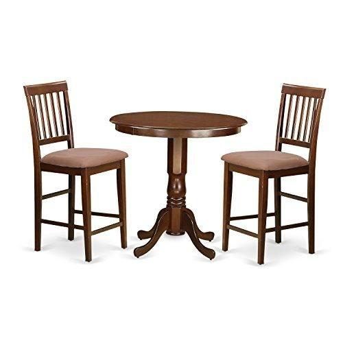 Muebles Del Este Oeste Javn3mahc 3 Piezas Juego De Mesa Y 2