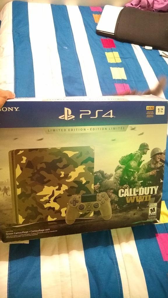 Playstation 4 Slim 1 Tera Como Nuevo