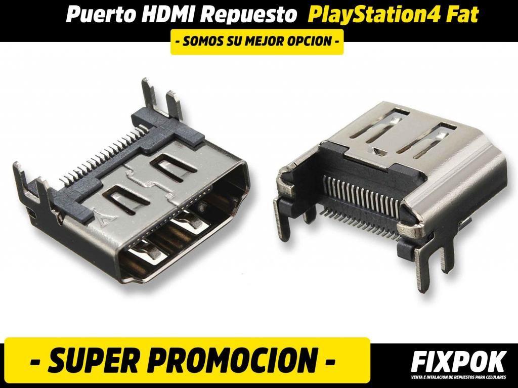 Puerto HDMI PS4 Fat - Repuesto PlayStation 4 - FIXPOK