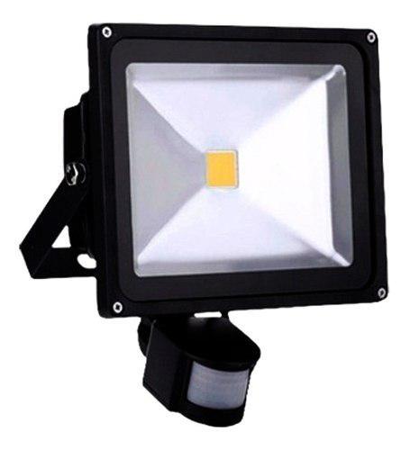 Reflector Led 50w Exterior Interior Sensor Luz Blanca Ip65