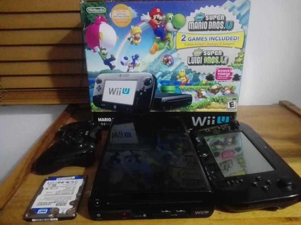 Wii U pro controller 320 GB en juegos