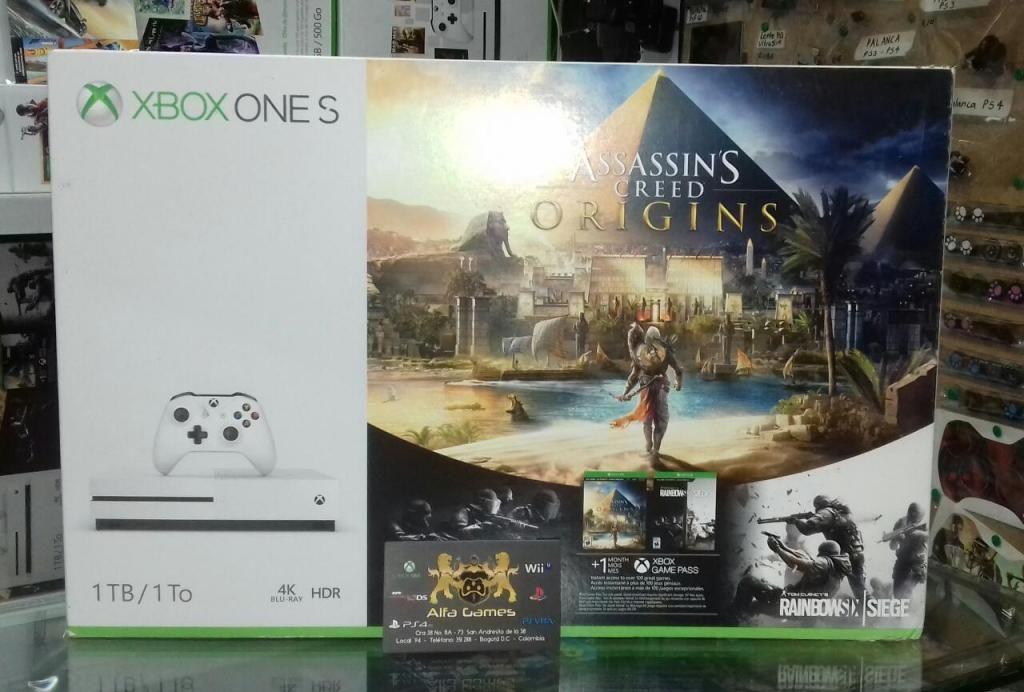 Xbox One S 1 Tera Nueva