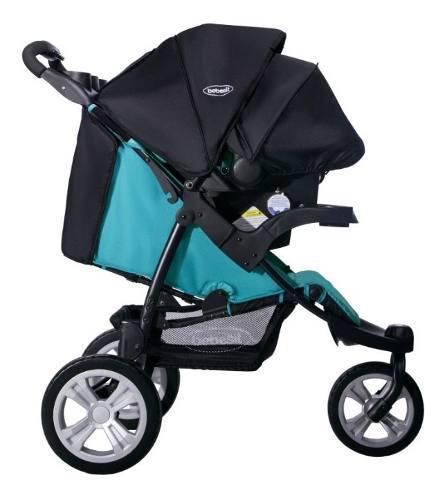 Coche Para Bebe Travel System Jogger Fox Silla Carro 4 En 1