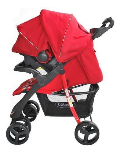 Coche Porta Bebé Silla Para Carro 4 En 1 Matix Bebesit