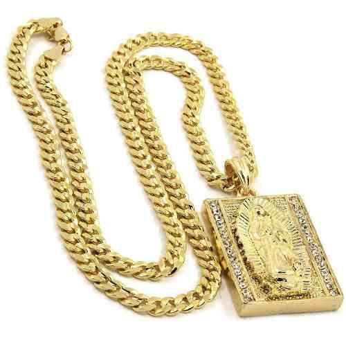 Jewel Town Para Hombre Chapado En Oro Hip-hop Bloque Helado
