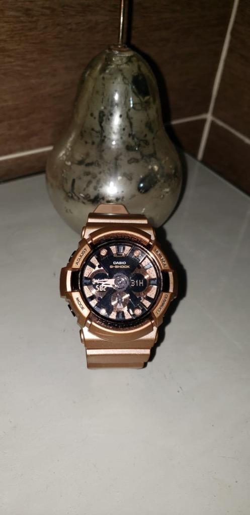 Reloj Casio G-Shock Rose Oro Dial Rose Oro Tone Resina