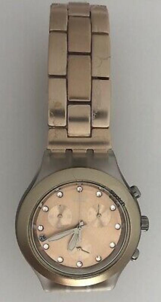 Reloj Swatch Ironi Diaphane Suizo Origin