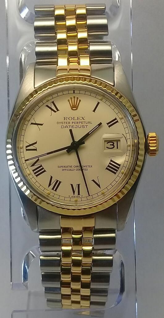 Rolex Date Just  Acero Y Oro Vintage