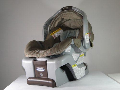 Silla Porta Bebé Con Soporte Para Carro Graco Ganga