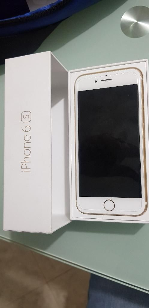 Vendo iPhone 6s de 16gb en Caja.