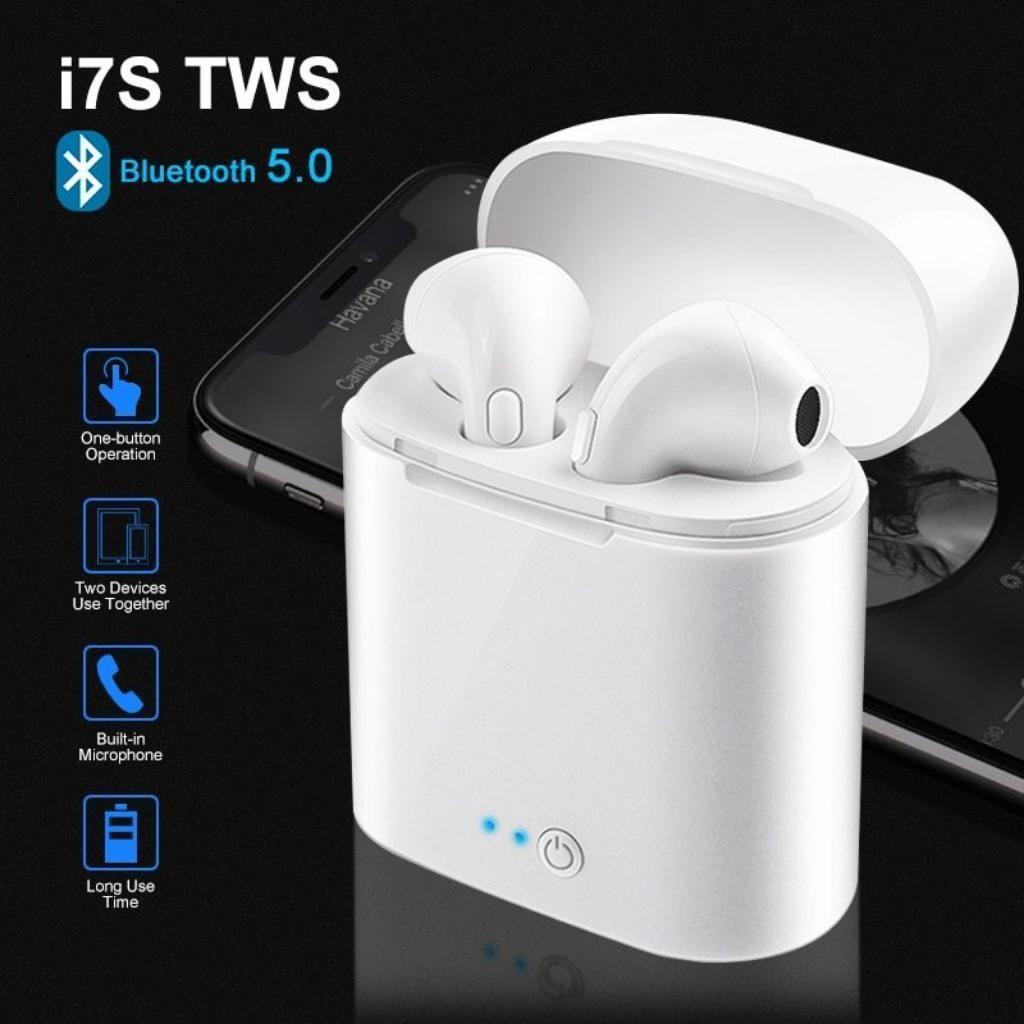 Audifonos I7 Inalambricos Bluettoth