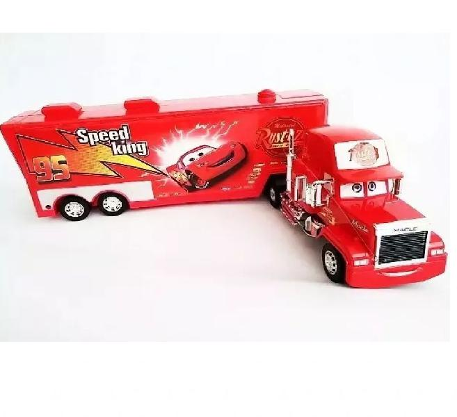 Mula Camion Rayo Mcqueen Control Remoto Tractomula