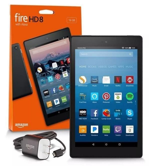 Tablet Amazon Fire Hd 8 16gb Nuevo y sellado  última