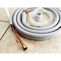 Tuberia de cobre para instalar equipos de aire acondicionado