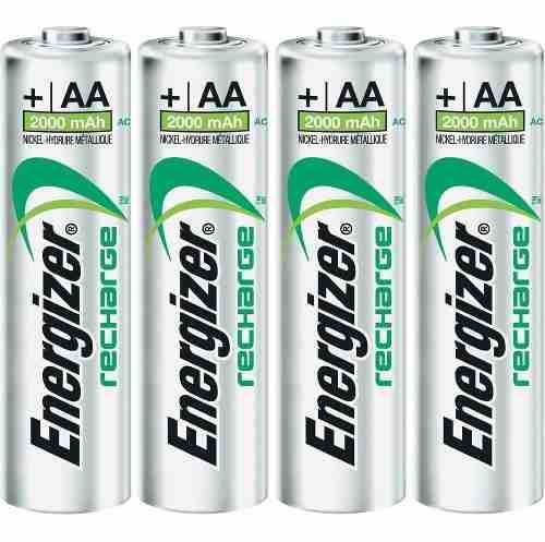 Cargador De Baterias Pro Energizer + 4 Aa