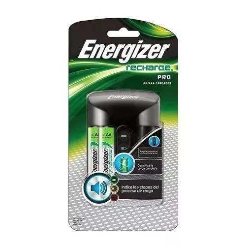 Cargador De Baterias Pro Energizer Incluye 2 Aa 1300 Mah