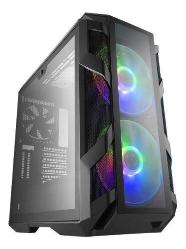 Chasis / Case / Torre Cooler Master Fan Rgb Vidr Temp H500m