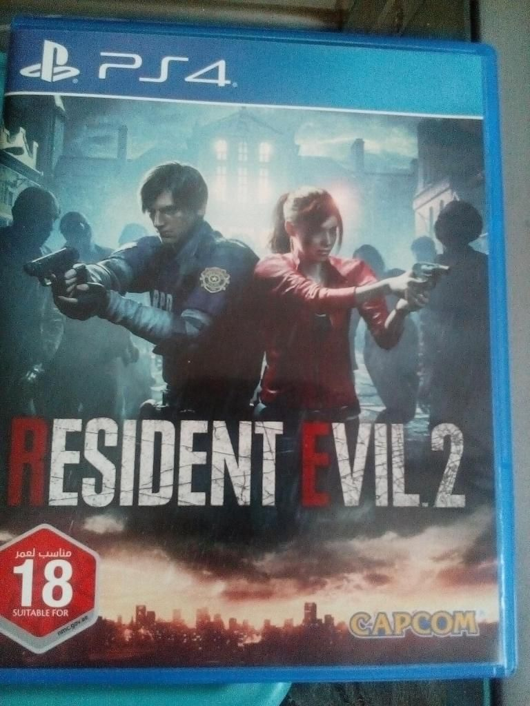 juego resident evil 2 remake ps4