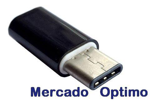 Adaptador De Micro Usb Hembra A Tipo C Macho