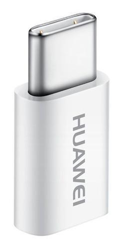 Adaptador Huawei Original Micro Usb A Tipo C Blanco