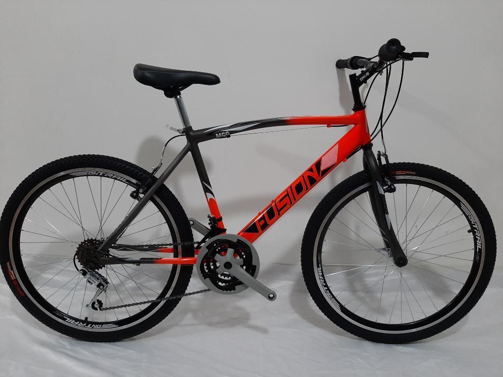 Bicicleta Todoterreno Rin 26 con 18 Vel