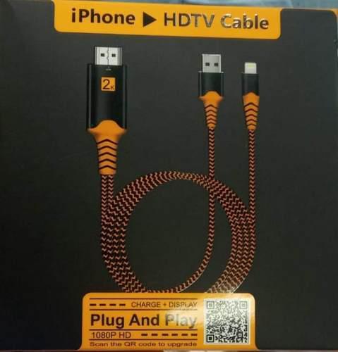 Cable Adaptador De Usb A Hdmi Proyector Para iPhone