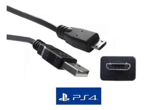 Cable Datos Control Ps4 Premium 1.8 M Transferencia De Datos