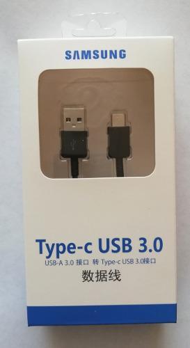 Cable Datos Tipo C Original Samsung S8 S9 A7 A5 A3 2017