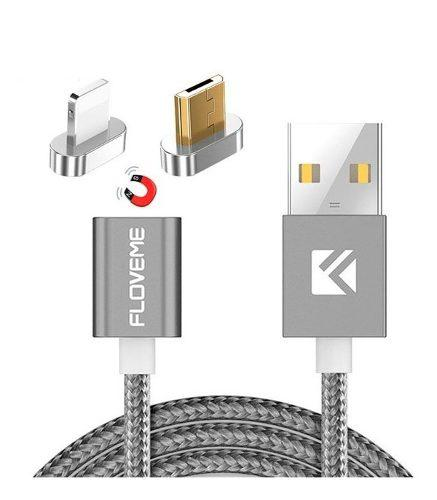 Cable Magnético Para iPhone Y Android Micro Usb 2