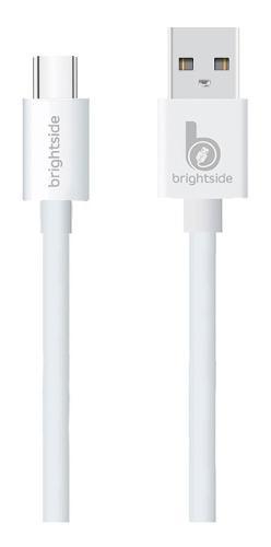 Cable Microusb Silicona V8 Brightside Carga Rápida 2.2a