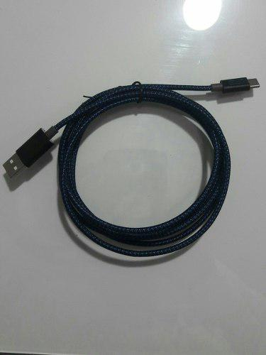 Cable Tipo C 2mt En Nylon Carga Rápida Ideal Nintendo
