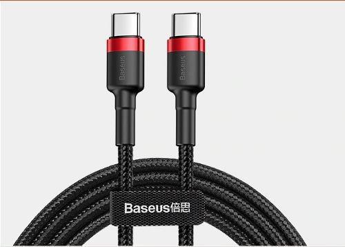 Cable Usb Tipo C A Usb C Baseus 60w 2m Qualcomm 3.0