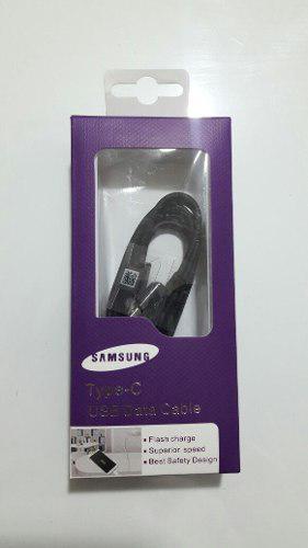 Cable Usb Tipo C Para Android, Carga Rápida. Negro