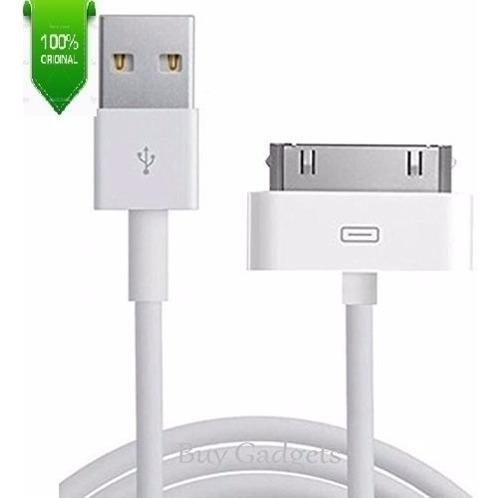 Cable iPhone 4 Certificado 30 Pines Caja Ipad1 Ipad2 Caja