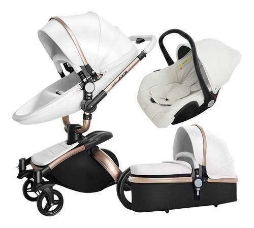 Coche Aulon Baby Stroller 3 En 1 Original + Envío Gratis