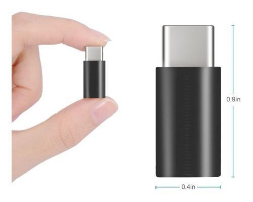 Convertidor Adaptador Micro Usb A Tipo C 3.1