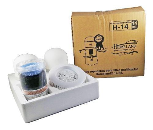 Kit De Repuestos Filtro Homeland® 14 Lts H-14 ¡promoción!