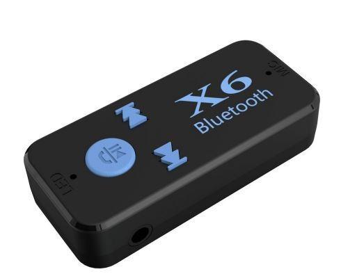 Manos Libres Bluetooth X6 3.5mm Jack Inalámbrico Kit De Car