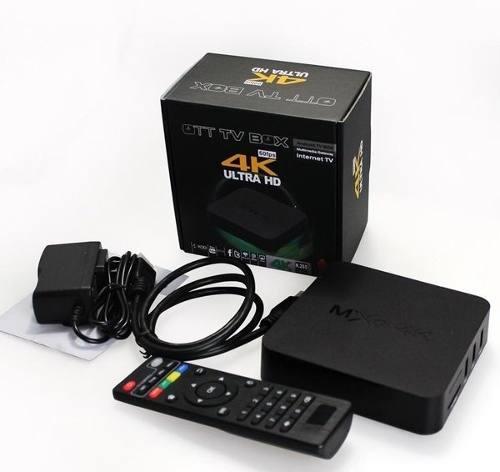Nuevo Android Tv Box Mxq 4k Ram 2g/8g + Cable Hdmi De 2 M