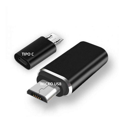 Paquete 3 Adaptadores Micro Usb Macho A Usb Tipo C Hembra