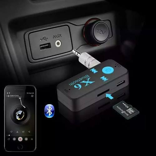 Receptor Bluetooth 4.1 Manos Libres Tarjeta Micro Sd