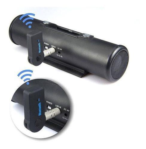Receptor Bluetooth Para Carro + Conector Aux Manos Libres